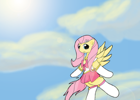 MLP - Sailor Moon - Sailor Fluttershy by liriana