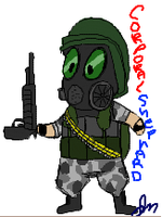 Corporal Shephard by Wolf-Shadow77