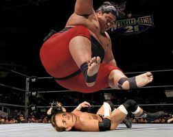 Michael J. Fox VS Yokozuna by mapacheanepicstory