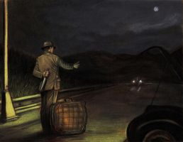 The Hitchhiker by tboersner