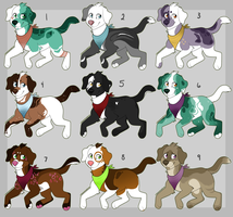Paypal/Points Canine Adopts (Closed) by HP-Adopts