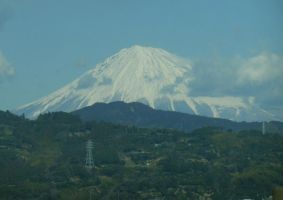 View of Mt Fuji for Fujisan Day by rlkitterman
