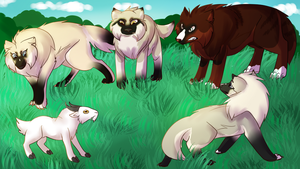 YTH finished: Mountain Goat Hunting collab by Lizzara