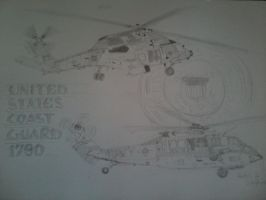 US Coast Guard WIP by ArtistNumber3