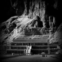 Temple of Hatshepsut by lostknightkg