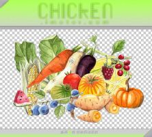 [chicken.imotor.com]fruits and vegetables by goben1024