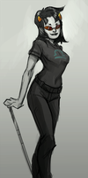 Terezi Sketch by BurriBlue