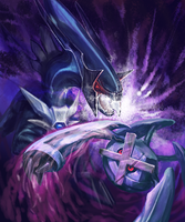 Metagross VS Dialga by Kezrek
