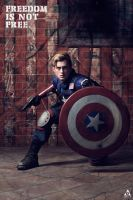 Captain America by samsophotography
