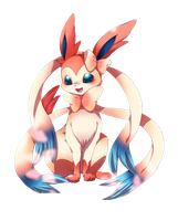 Sylveon render 2 by IdolPrincess