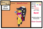 Pokemon-Of-Avalon: Mawlly Pearl NPC App 2.0 by learn2chillax