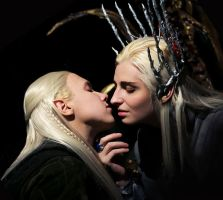 Closer, my heir. Thranduil/Legolas by the-ALEF