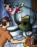 When the Toilet Needs Cleaning by ElectricGecko