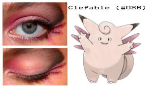 Pokemakeup 036 Clefable by nazzara