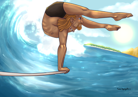Stretch Surf by roemesquita