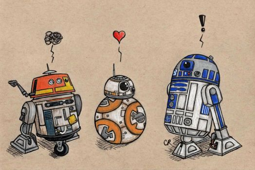 The Droids You're Looking For by tee-kyrin