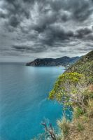 Nice walk between Manarola and Corniglia (Italy) by Bibidef