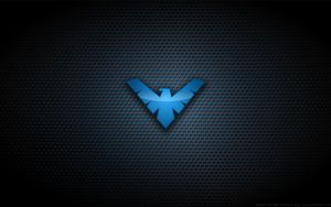Wallpaper - Nightwing 'TNBA' Logo by Kalangozilla