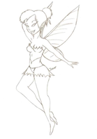 Art Jam - Tinkerbell by Secretwindow1