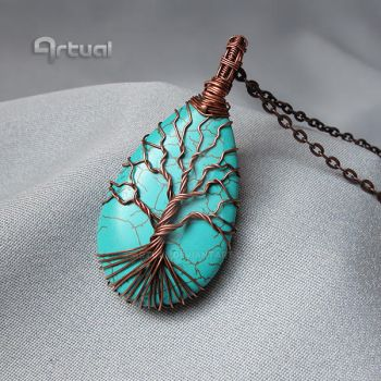Wire wrapped tree of life by artual