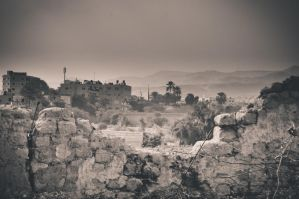 Desert Mountains of Jericho by vastarantakettu