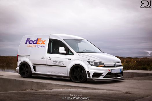 Volkswagen Caddy FEDEX Edition by RDJDesign