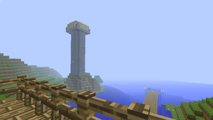 Minecraft Signal Tower by Mellomeme
