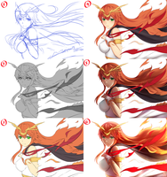 Flame of Love (STEP BY STEP) by Hananon
