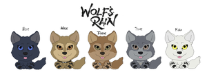 Wolfs Rain Chibi by KI-Cortana