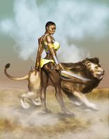 Shange and Mijoga by Djele