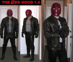 Red Hood Costume animated WIP by ajb3art