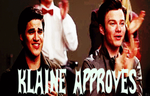 KLAINE APPROVES! :D by Sugerpie56