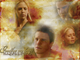 Buffy and Angel wallpaper 2 by Fidelian