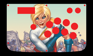 Power Girl template by Major-M-Kusanagi