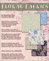 Merchant Resource Floral Fabrics by cosmosue