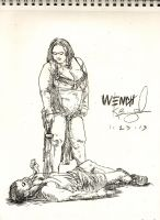 Wench Concept 029 by KurtBrugel