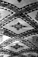 Aya Sofia Ceiling 5. Mono. by johnwaymont