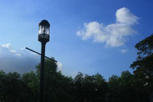 early day lamp post by thedismantled