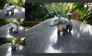 Clay Wolf by CatCowProduce