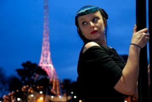 Paris in Melbourne by Giggle-Monster