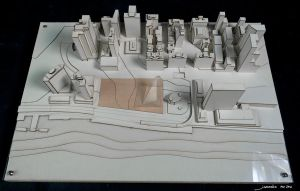 Thesis City Model 01 by QubixDesign