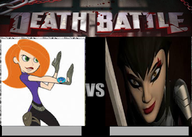 DB277: Kim Possible vs Karai by Mr-Wolfman-Thomas