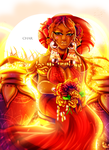 The crest of the sunset by Goddess-Mayura