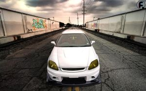 Honda Civic - S2k Voltex Bodykit by brucis21
