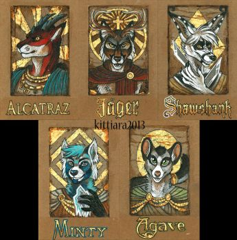 Badges 2013 - 2 by kittiara