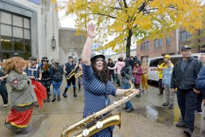 2014 Honk Festival, Chaotic Noise Cheer and Boogie by Miss-Tbones