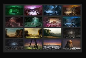 Landscape Concepts by Wolfgan