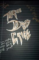 Three Days Grace With Sharpies by Daylighter123