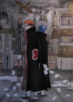 Pain and Konan finished by bloajd