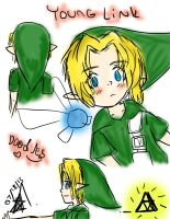 Young Link doodles by To0nLink